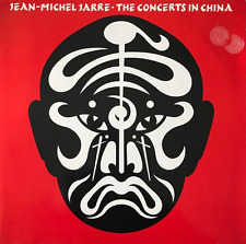 JEAN-MICHEL JARRE - The Concerts In China (LP) (VG-EX/VG)