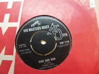 "Tommy Roe – Kiss and Run 1963 7"" HMV POP 1174"