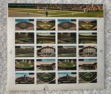 LEGENDARY BASEBALL FIELDS Sheet of 20 - 34¢ Stamps Scott #3510-19 USPS 2001 MNH