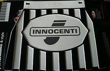 Lambretta Innocenti Black & White Stripe Cuppini Mudflap Rubber Type