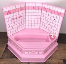 Barbie Sweet Roses Bath Tub Shower Walls Towel Rod Pump Replacement Parts