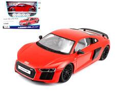 1:24 Audi R8 V10 Plus Assembly Metal Kit Diy Metal Model Car Toy New in Box