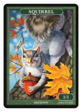 Squirrel Token Custom art by Magic Artist Pat Lewis MTG Magic the Gathering