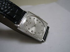 LONGINES 14K SOLID WHITE GOLD 12 DIAMOND HAND-WINDING 1966 WATCH