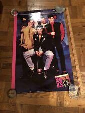New Kids On The Block 1990 McDonalds Summer Magic Poster