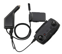 Car Charger Battery Remote Control USB Charging 2 in1 For Rc DJI Mavic Air Drone
