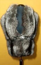 New model! Beautiful Saga Silver Fox Fur stole,cape. Quality guaranteed!