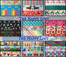 "✜ RAINBOW CARTOON GROSGRAIN RIBBON 7/8"" 22mm 1"" 25mm Cake Bow Hair Dummy Clips ✜"