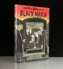 1960 BLACK MARIA CHARLES ADDAMS FAMILY SIGNED FIRST EDITION WITH COMIC  DRAWING