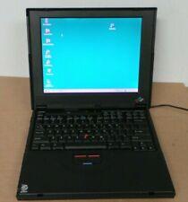 IBM THINKPAD  390 PENTIUM  MMX  233 MHZ  32MB RAM  WINDOW 98