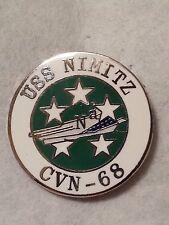US Navy USS Nimitz CVN-68  Lapel PIN Naval Aircraft carrier 1 inch Pin approx