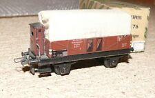 B28 Trix Express 20/76 piano carrello con BHS Halle 1071 LAMIERA