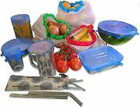 Zero Waste 26 Piece Bundle Starter Kit - 12 Reusable Mesh Produce Food Bags