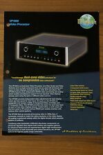 McIntosh VP1000 Video Processor brochure