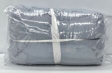 New Pottery Barn Soft Cotton Handcrafted King~Cal. King Quilt~Blue