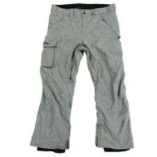 Burton Men's Dryride Snowboard Ski Snow Pants Gray Size 2XL XXL 42x32