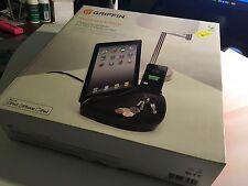 iPad, iPhone & iPod 2.1A 10W PowerDock Dual Docking 30 Pin Charger Black GC23126