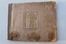 23863 GREILING SPORT ALBUM 1926 mit 93 Bilder Fußball Mannschaften Spieler