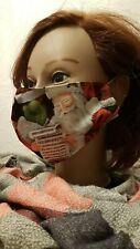 Gesichtsmaske Mund- Nasenabdeckung Maske Erwachsene Weihnachtsmann Lied singen