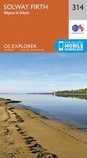Solway Firth Explorer Map 314 - New - OS - Ordnance Survey