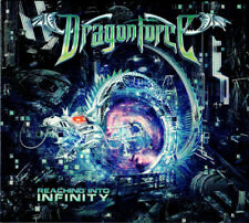 DRAGONFORCE Reaching Into Infinity 2017 Limited Edition CD + DVD NEW/SEALED