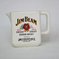 Jim Beam  Whisky Wasserkrug Water Jug Pitcher Keramik Krug Karaffe Rare 14