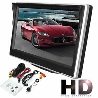 "5"" 800*480 TFT LCD HD Screen Monitor for Rear Reverse Rearview Backup Camera DA"