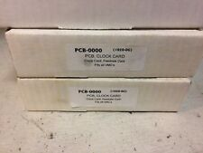 NEW FADAL PCB-0000 Clock Card  (1020-0G) Factory Sealed Fits all VMC's