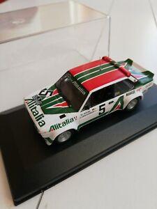 1:43 Fiat 131 Abarth Rohrl Acropolis Rally 1978 IXO ALTAYA