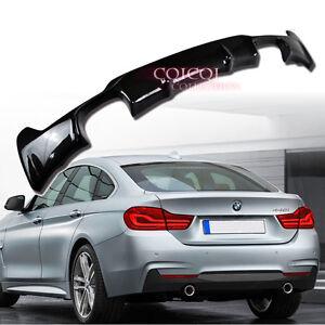 Carbon BMW 2014~2017 F32 F33 F36 4-series M sport bumper rear diffusor ◎
