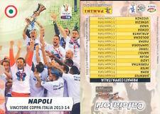 CALCIATORI 2014/15*ADRENALYN PANINI CARD N.2 *JUVENTUS CAMPIONE D'ITALIA *NEW