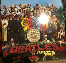 2012 Digitally Remastered Beatles LP Record St Pepper Lonely Hearts Band Rare