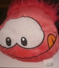 CLUB PENGUIN PINK PLUSH PILLOW TEDDY