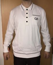 Neu G-Star RAW Polo Shirt Gr XXL Shirts Langarm Polo Sweatshirt White RAR