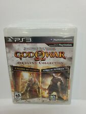 God Of War Origins Collection NEW SEALED  PS3 Chains of Olympus+Ghost of Sparta