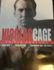 Nicolas Cage: 3 Movies (Face/off, Snake Eyes, Bringing Out the Dead) Dvd