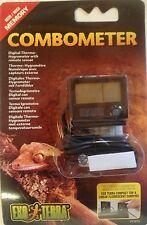 Exo Terra Digital Combo Thermo-Hygrometer New