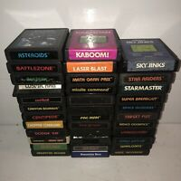 Huge Lot of 35 Atari 2600 Games Cartridges Pac Man Space Invaders Donkey Kong