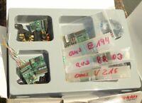 Märklin H0 Konvolut 7 x Fx und MFX Decoder in OVP, 2 Stück 5-polige Anker etc.