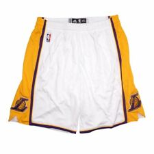 Los Angeles Lakers NBA adidas Authentic On-court Team Issued Pro Cut Shorts  Men 282419ea4