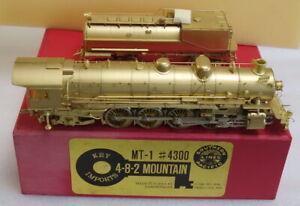 Key Imports Brass HO SOUTHERN PACIFIC 4-8-2  MT-1 #4300