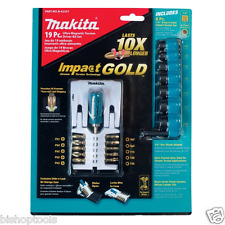 Makita B-42357 Impact Gold19-Piece Ultra-Magnetic Insert bit and Socket Set NEW