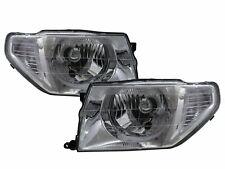 Pajero iO 1998-2015 SUV 3D/5D Clear Headlight Chrome for Mitsubishi LHD