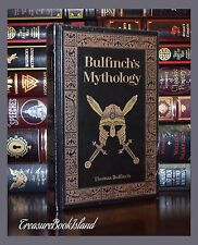 Bulfinch's Mythology Sealed Leather Bound New Fable Charlemagne Collectible Ed