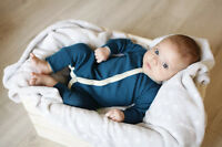 100% super soft Merino wool long sleeve without feets Romper