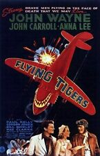FLYING TIGERS MOVIE POSTER John Wayne RARE VINTAGE 1