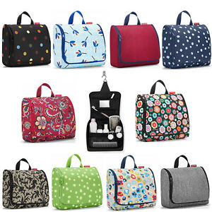 Reisenthel Hanging Wash Bag / Toiletry Bag XL Size - Assorted Patterns / Colours