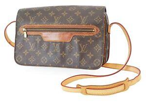 Authentic LOUIS VUITTON Saint Germain 28 Monogram Crossbody Shoulder Bag #13984