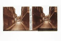 Obernai Francia Placca Da Lente Stereo 6x13cm Vintage Ca 1920