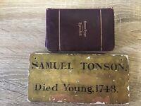 Various Papers, Pictures Archbishop of York, Thomas Jones Samuel Tonson Ephemera